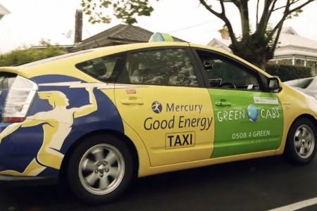 Mercury's Good Energy Taxi